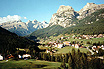 Alta badia mountains